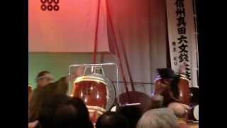 15周年記念コンサート 信州上田六文銭太鼓 TOKYOBOWZ友情出演 2012/10/2...