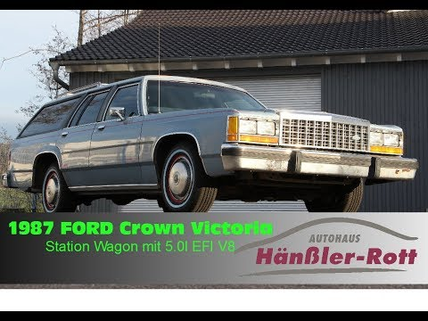 ★ 1987 Ford Crown Victoria Station Wagon ★ 5.0 EFI V8 ★ Car Porn ★ For Sale ★ Zu Verkaufen