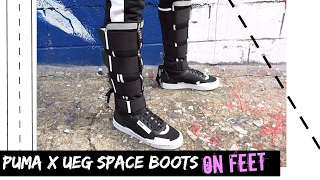 PUMA X UEG Gravity Resistance On Feet & What I wore |OOTD