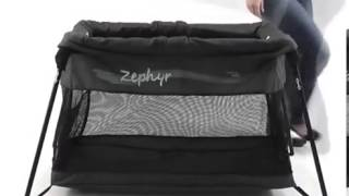 Valco Baby Zephyr Travel Cot Set Up/Pack Up Demo