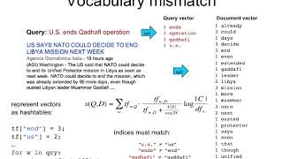 IR4.1 Vocabulary mismatch in IR