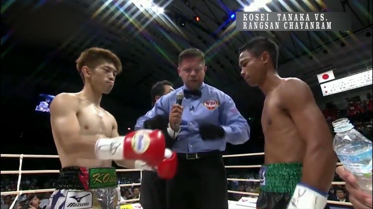 The best moments Kosei Tanaka vs. Rangsan Chayanram / Косей Танака vs Рангсан Чаянрам лучшие моменты