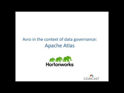 End to end Data Governance with Apache Avro and Atlas