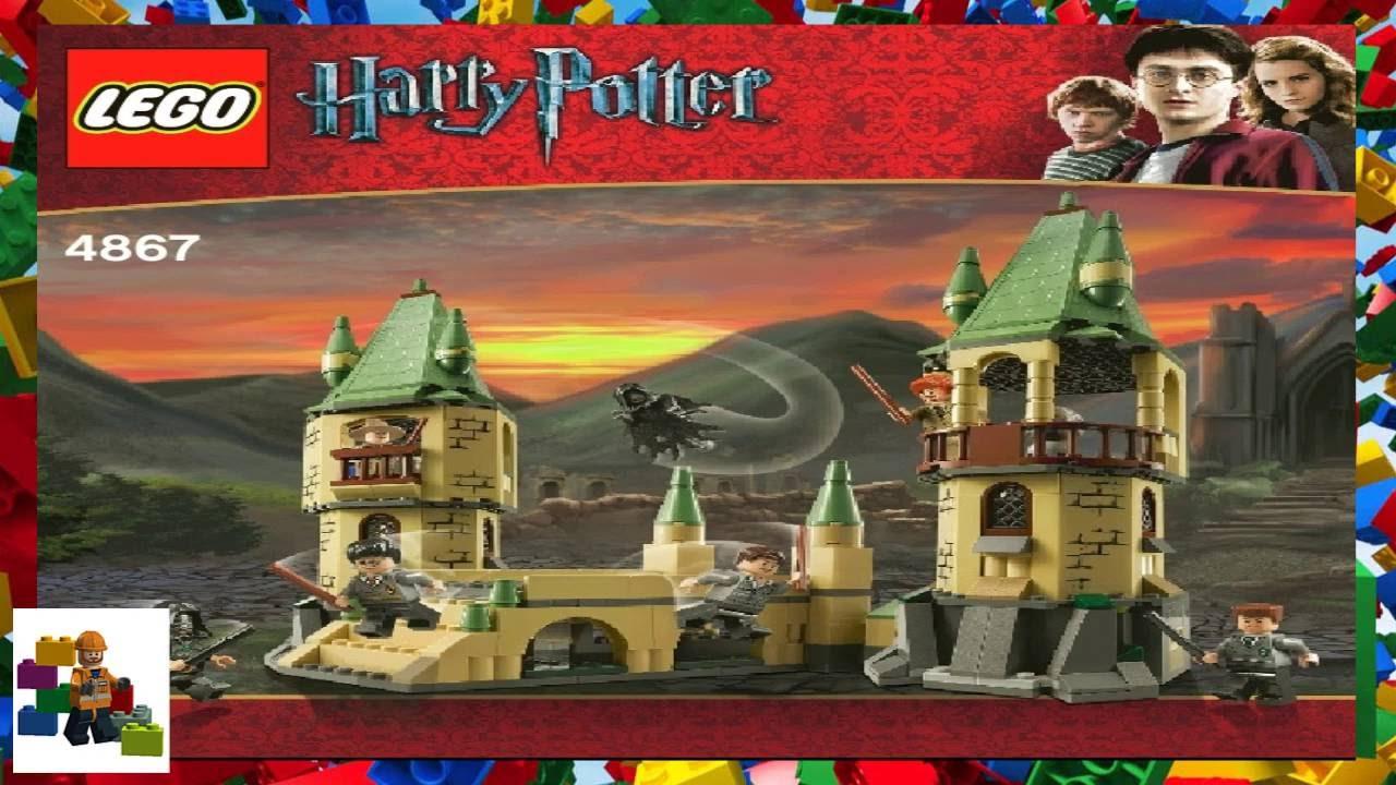 Lego Instructions Harry Potter 4867 Hogwarts Youtube