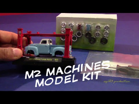 M2 Machines Model Kit 54 Chevy 3100 Series Review Youtube