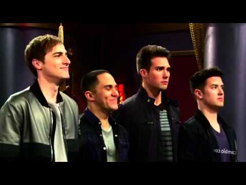 "Big Time Rush bts ""Marvin Marvin"" - YouTube"