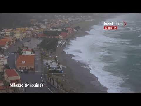 LIVE Sicilia, Vento Forte E Mareggiate: Le Immagini In Diretta Da Milazzo