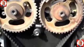 Calage courroie distribution  OPEL  - تعديل حزام اوبل - Calage  Mise au Point Moteur