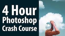 Four Hour Photoshop Crash Course