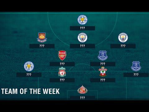 Football talk - English Premier League 2016/2017 seasoon -  Team of the week - MW5