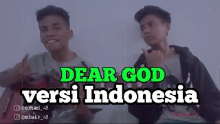 Download Mp3 Dear God Versi Indonesia  Noman Ft Maulana Cover