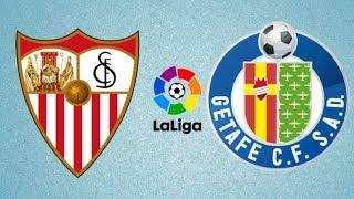Sevilla vs Getafe - Highlights & All Goals - La Liga 2018/19 - Gameplay