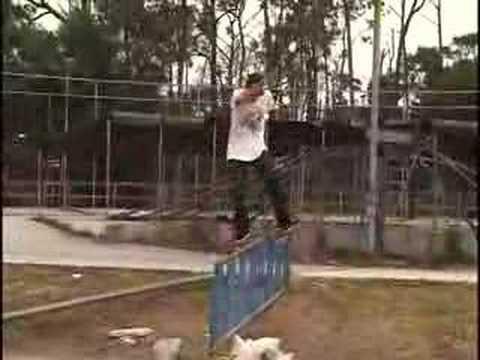luke skateboarding.