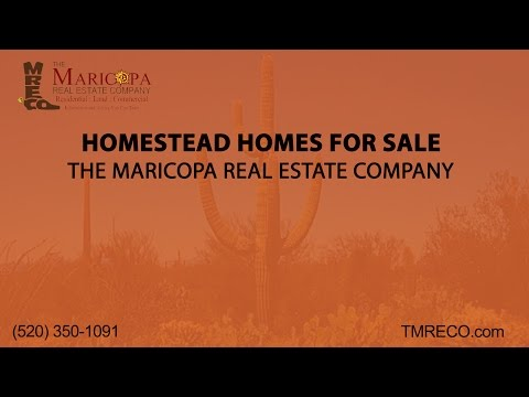Homestead Homes For Sale | The Maricopa Real Estate Company