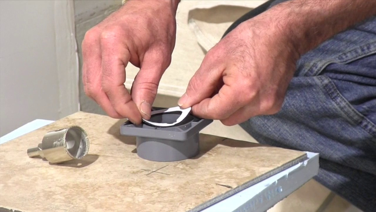 How To Cut A Hole In Porcelain Tile