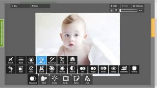 Добавление фотоэффектов и рамок на фотографию