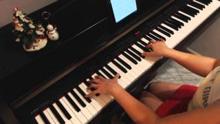 Frozen - Do You Want To Build a Snowman (Easier Version) - Piano cover
