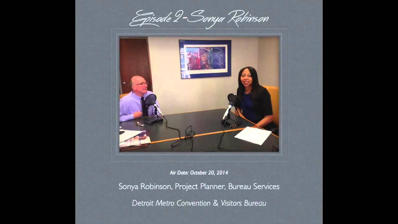purereinvention podcast 2 sonya robinson detroit metro convention visitors bureau youtube. Black Bedroom Furniture Sets. Home Design Ideas