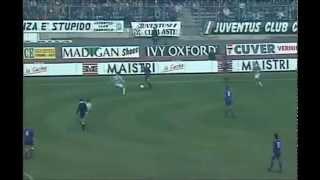 Juventus-Fiorentina 3-2 | Gol spettacolare di Alessandro DEL PIERO! (04/12/94)