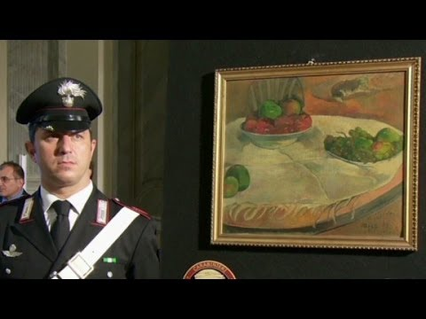 Stolen French paintings found 40 years later