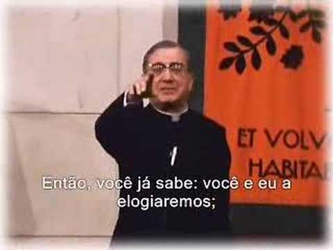 Josemaria Escrivá e Nossa Senhora