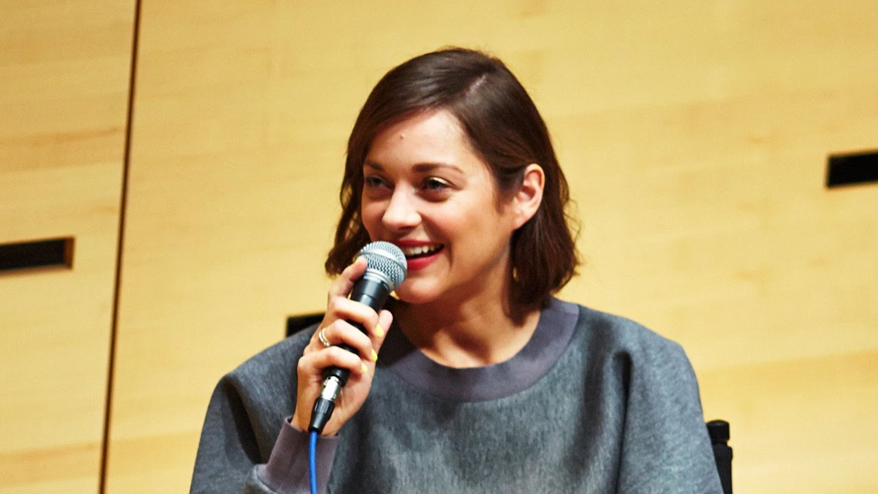 NYFF52 Live: Marion Cotillard | On Creating Characters