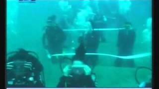 Underwater Wedding In Lebanon - Georgio El Berbery and Marchella - TV