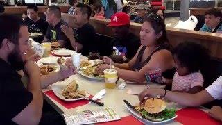 WATCH THIS: Timothy Bradley eats kamayan-style at Pinoy resto