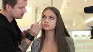 Мастер-класс по макияжу от M.A.C Cosmetics для Владиславы Евтушенко