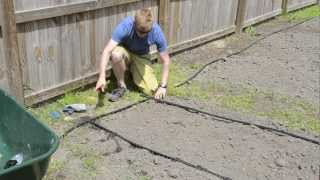 How to Install a Dripline Irrigation