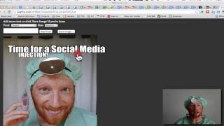Hoe maak je een Facebook Briefkaart of Meme Afbeelding