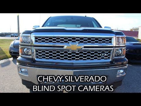 2014 CHEVROLET SILVERADO BLIND SPOT + FRONT FACING CAMERAS