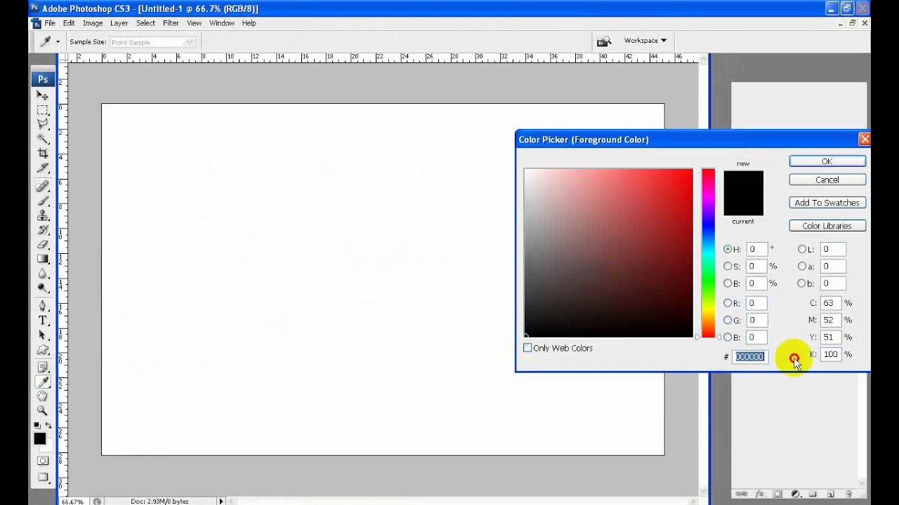 Cách đổ màu cho Background Photoshop