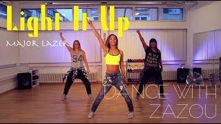 Dance With Zazou Major Lazer - Light It Up (Dance Tutorial)