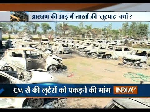 Ground Zero Report: How Jats Protest Caused Massive Damage to Public, Private Property