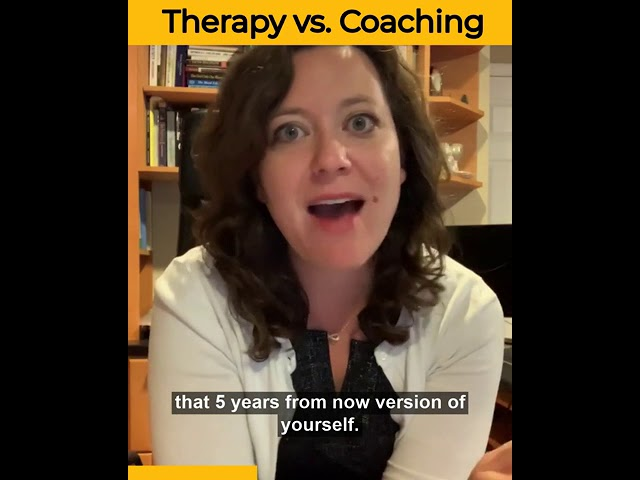 Therapy vs. Coaching