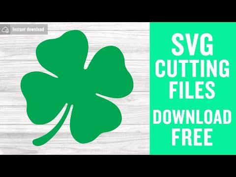 Shamrock Svg Free St Patricks Day Svg Clover Svg Instant Download Free Vector Files Shirt Design Saint Patricks Day Svg Cut File Dxf 0270 Freesvgplanet