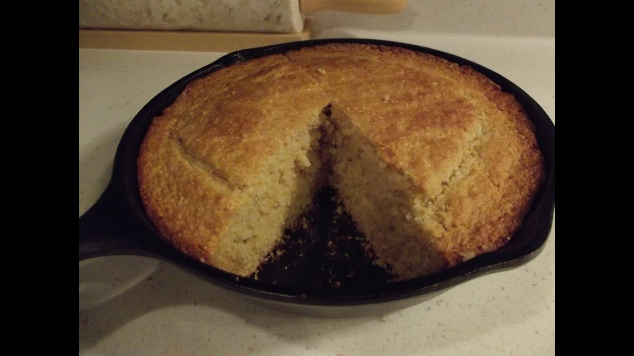 Buttermilk Cornbread   The Hillbilly Kitchen   YouTube