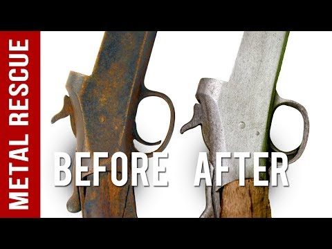 How To Remove Rust From Any Gun or Firearm - YouTube