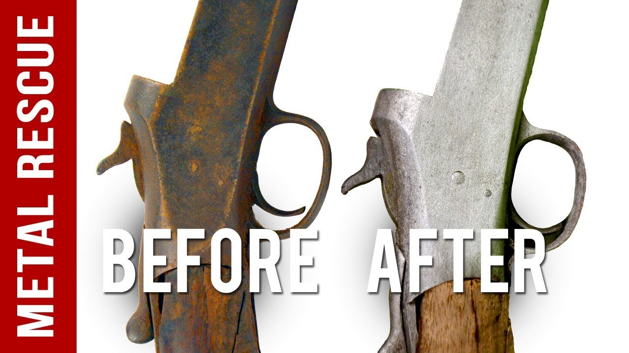 How To Remove Rust From Any Gun Or Firearm Youtube