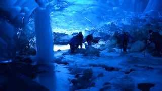 Mendenhall Glacier Ice Cave , Juneau, Alaska - Wintertime