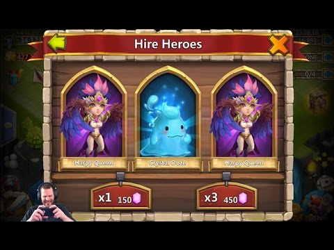 Rolling 30,000 Free 2 Play GEMS Very Nice Session + Uncover The Treasures Castle Clash