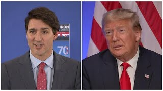 Trump calls Trudeau 'two-faced' after NATO video goes viral