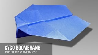 Как сделать бумажный самолетик Бумеранг | Cyco(Бумага Самолет Инструкция / Как сделать бумажный самолет с Tri Данг . ▻ Подписаться Главная Канал: http://goo.gl/wAFe3s..., 2016-01-09T06:52:24.000Z)