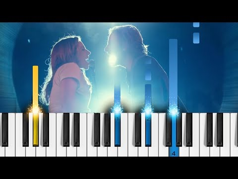 Lady Gaga, Bradley Cooper - Shallow (A Star Is Born) - Piano Tutorial