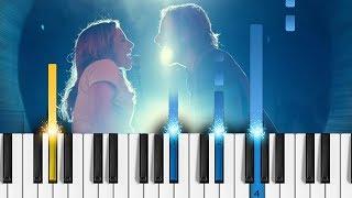Lady Gaga, Bradley Cooper - Shallow (A Star Is Born) - Piano Tutorial