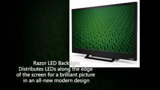 VIZIO D24h-C1 24-Inch 720p LED TV At A Glance
