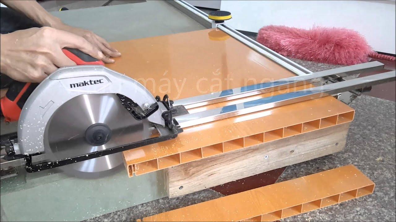 Máy cắt nhựa tự chế nhỏ gọn rẻ tiền mà hiệu quả