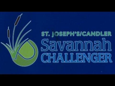 João Pedro Sorgi v Tennys Sandgren - Savannah 2017 - Final (Set 1 - Momentos)