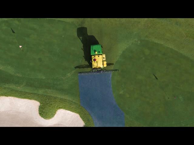 John Deere - HD200 GPS PrecisionSprayer - Intensidad de señal, de Autotrac™ universal y del depósito